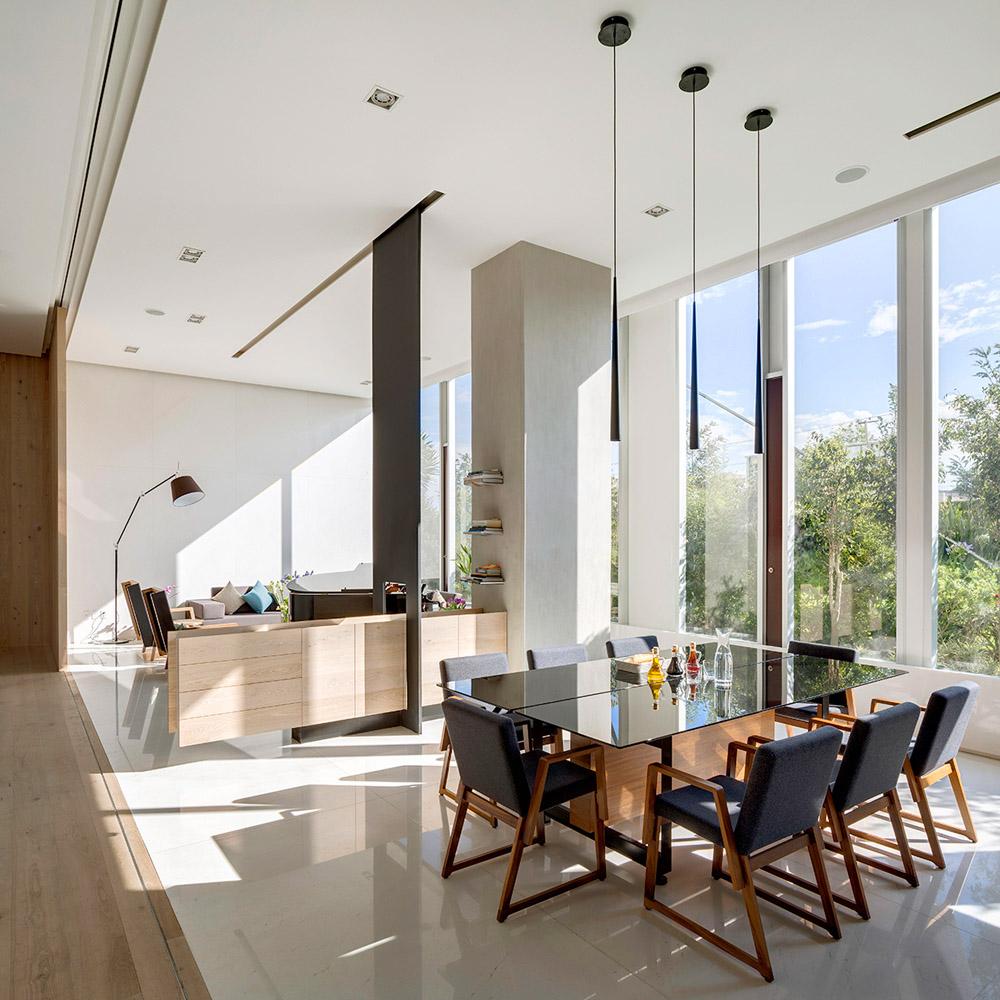 Функциональное зонирование в современной квартире, фото