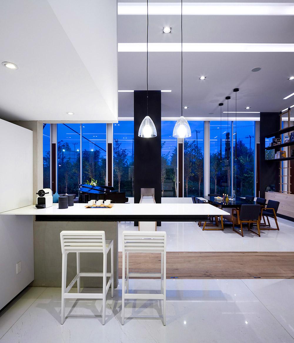 Зонирование пространства в однокомнатной квартире, фото