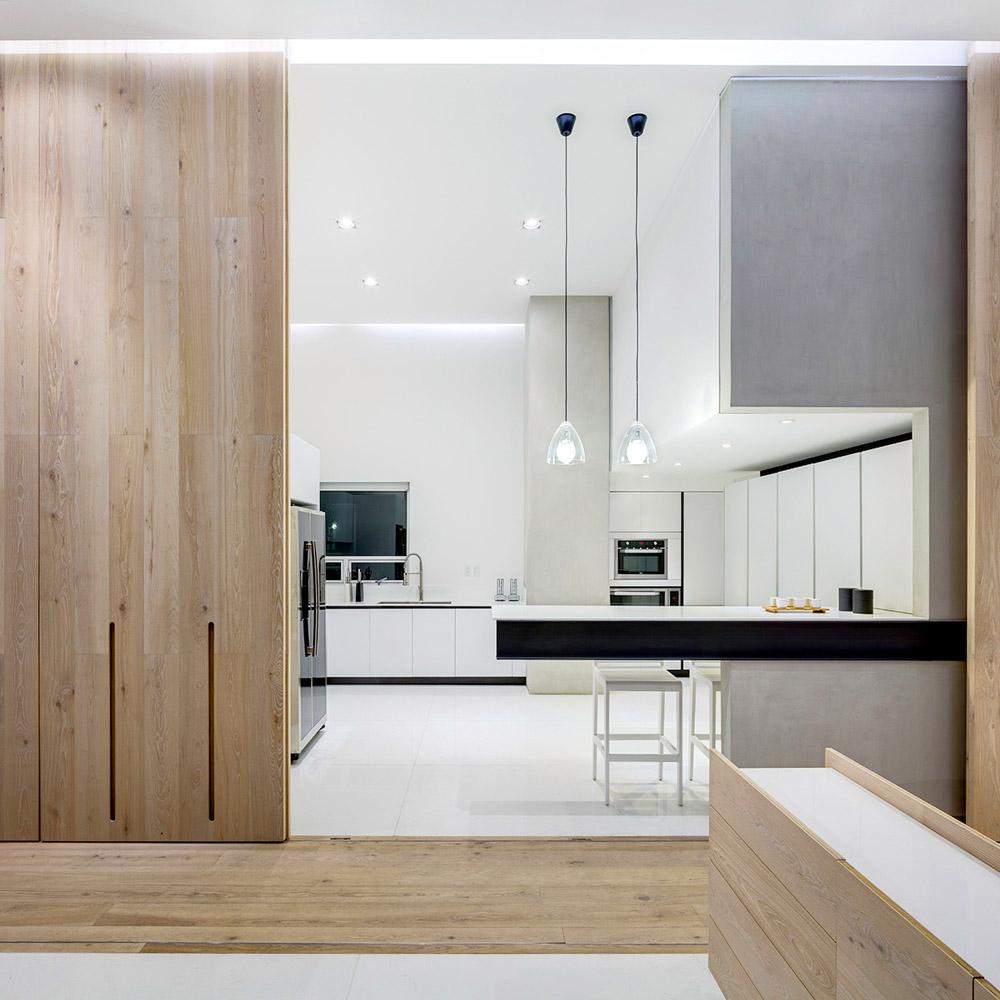 Кухня-студио в однокомнатной квартире, фото