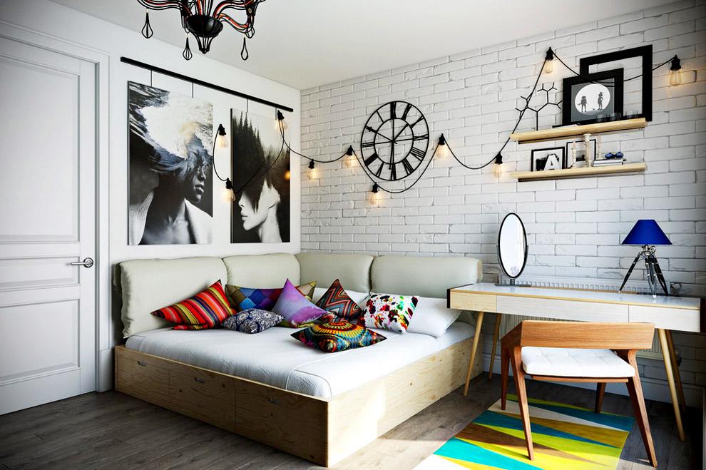 Как составить интерьер комнаты