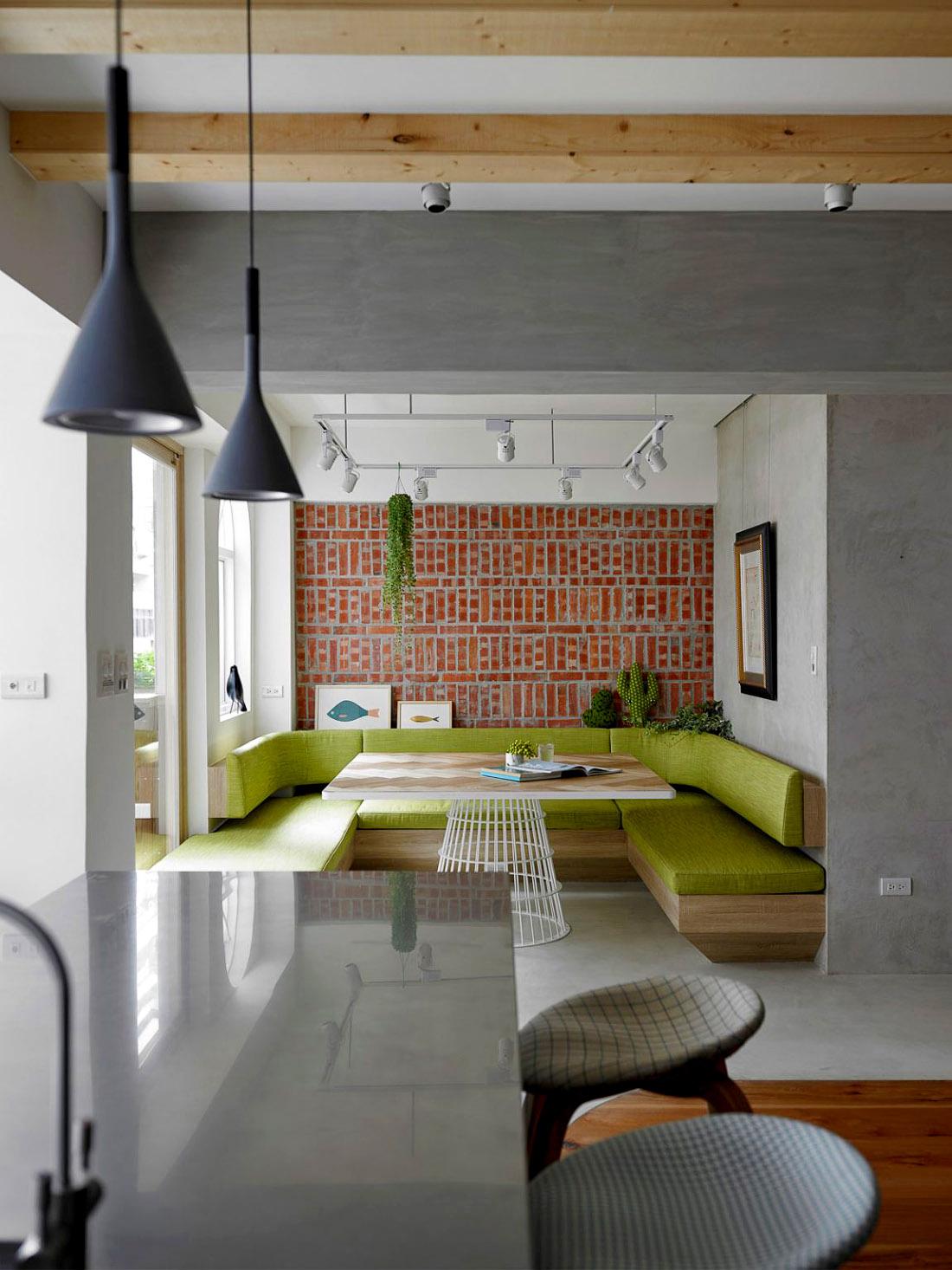 Современный интерьер: обеденная зона, фото