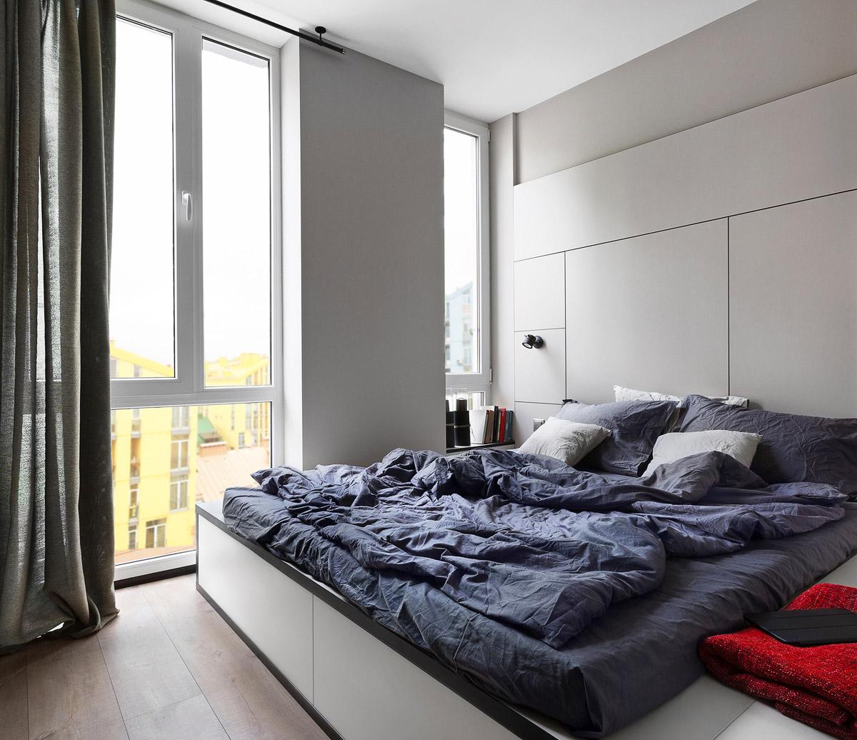 Дизайн спальни современные идеи, дизайн интерьера, Киев, Украина, фото