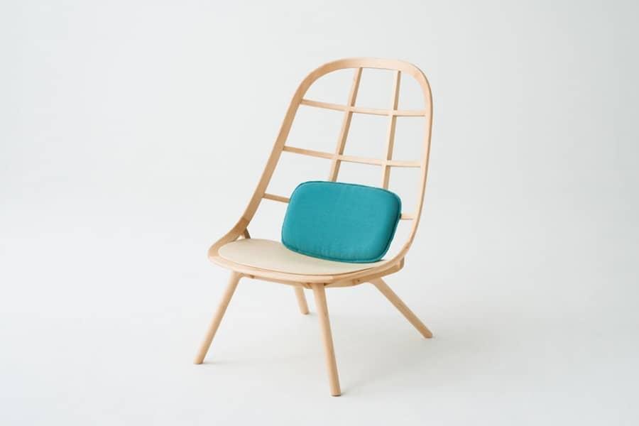 Деревянный стул Nadia от студии Jin Kuramoto, фото
