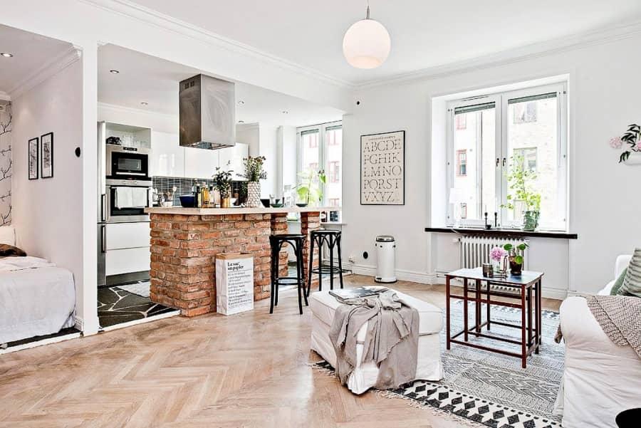 Дизайн маленькой квартиры: как превратить небольшое помещение в нечто особенное, фото