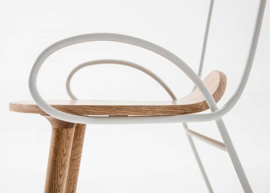 Элегантный стул Sylph от ателье Deshaus, фото