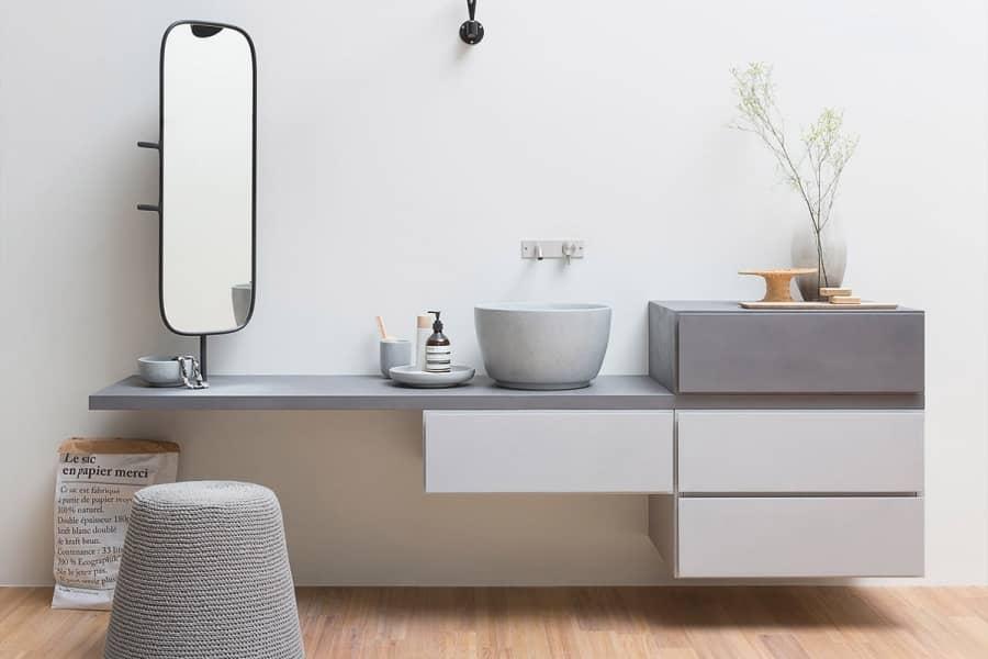 Esperanto — модульная мебель для современной ванной комнаты, фото