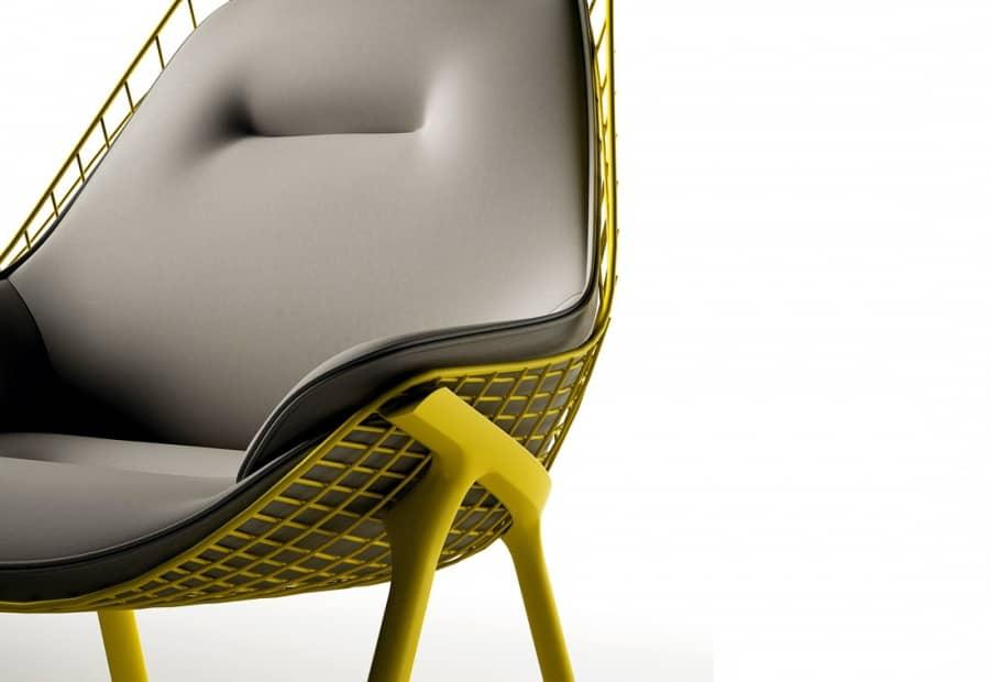 Gran kobi: строгое и эргономичное кресло для отдыха, фото