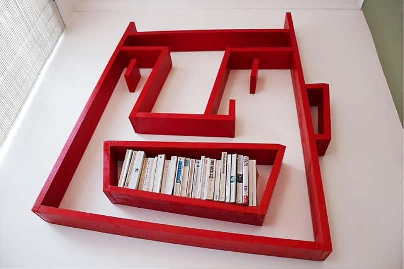 Как сделать книжную полку своими руками, фото