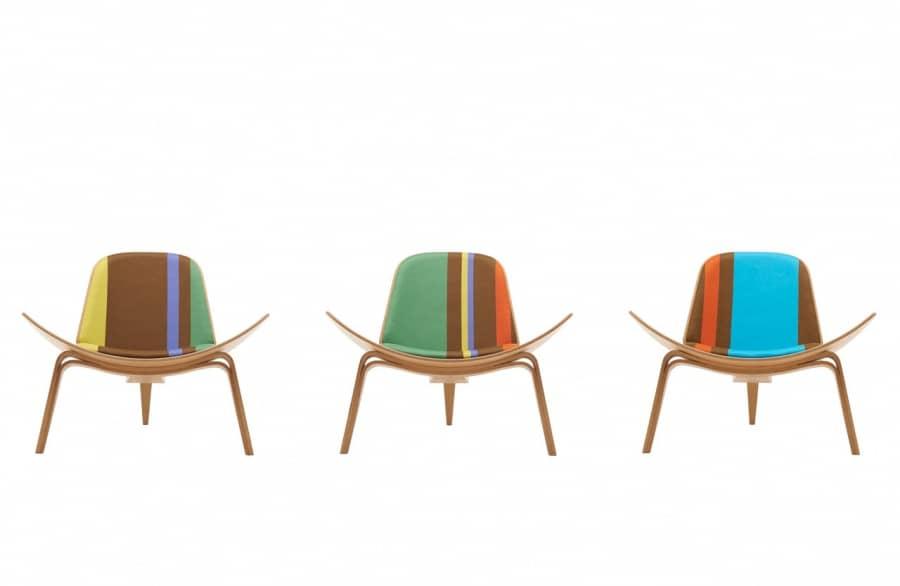 Коллекция мебели с принтами от Пола Смита, фото
