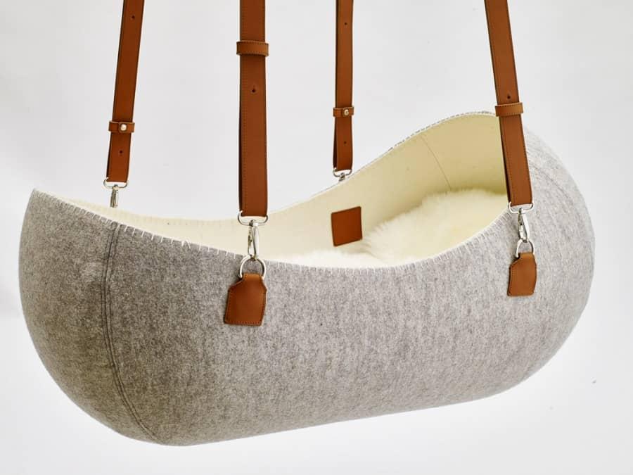 Колыбель для новорожденных: маленькое гнездышко от O-bject Design, фото