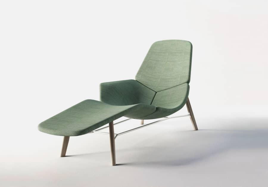 Кресло-шезлонг для отдыха от Патрика Нурье, фото