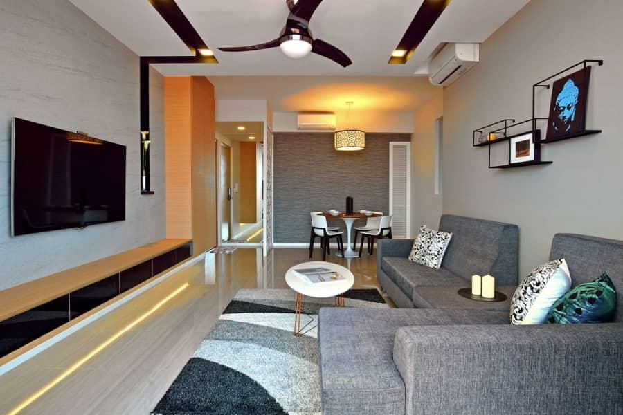 Квартира для небольшой семьи по проекту KNQ Associates, фото