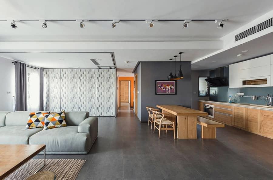 Квартира с мобильными стенами от Le Studio, фото