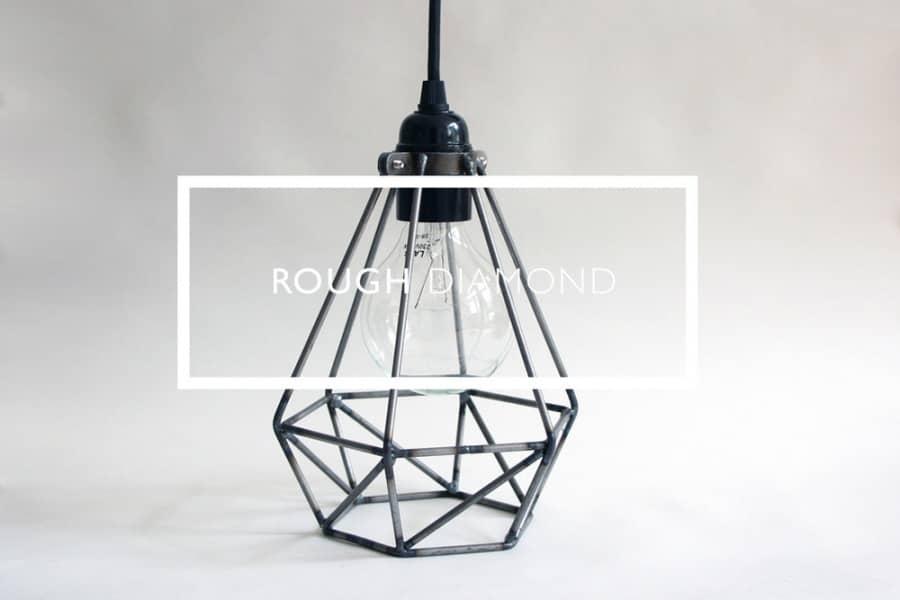Лампа Diamond Cage: универсальное освещение из Британии, фото