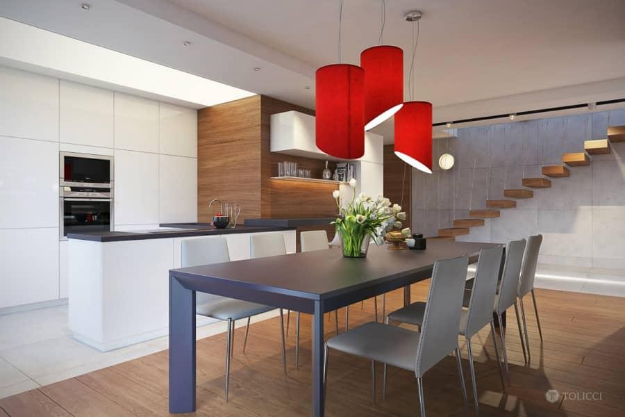 Воздушный и легкий дизайн семейных апартаментов в Братиславе, фото