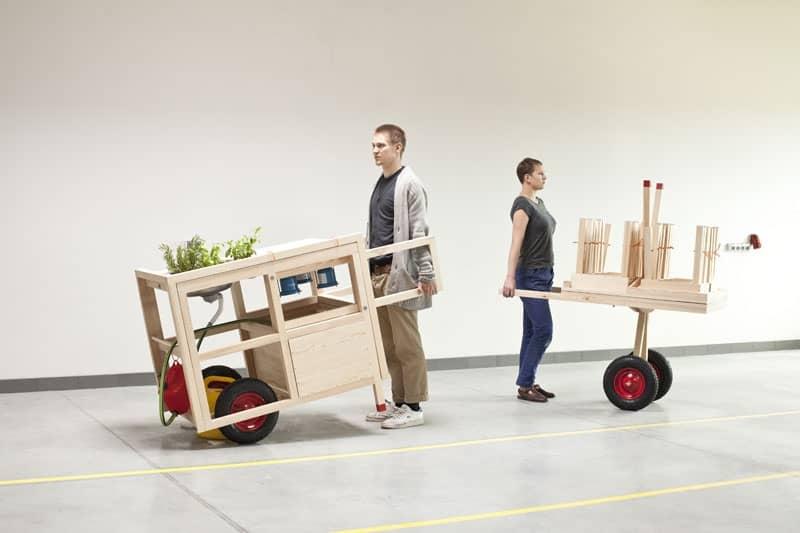 Предметний дизайн для міста: мобільна кухня на колесах, фото