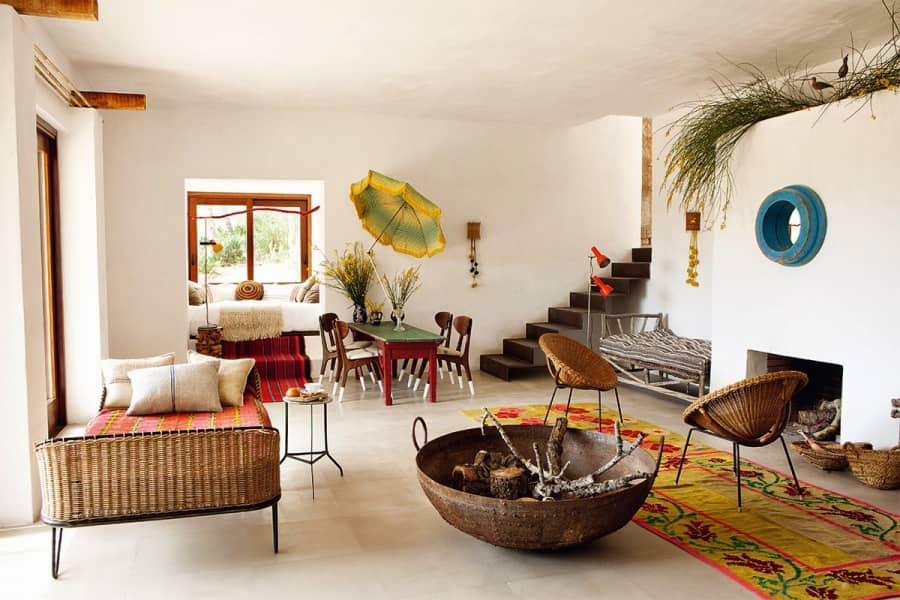 Райский интерьер летнего дома на Ибице, фото