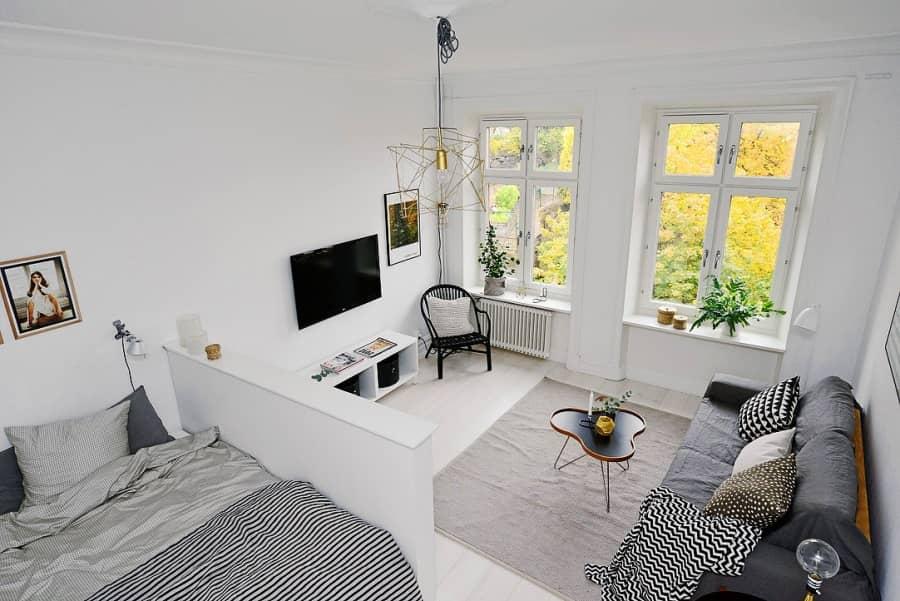 Скандинавский интерьер: продуманный дизайн небольшой квартиры, фото