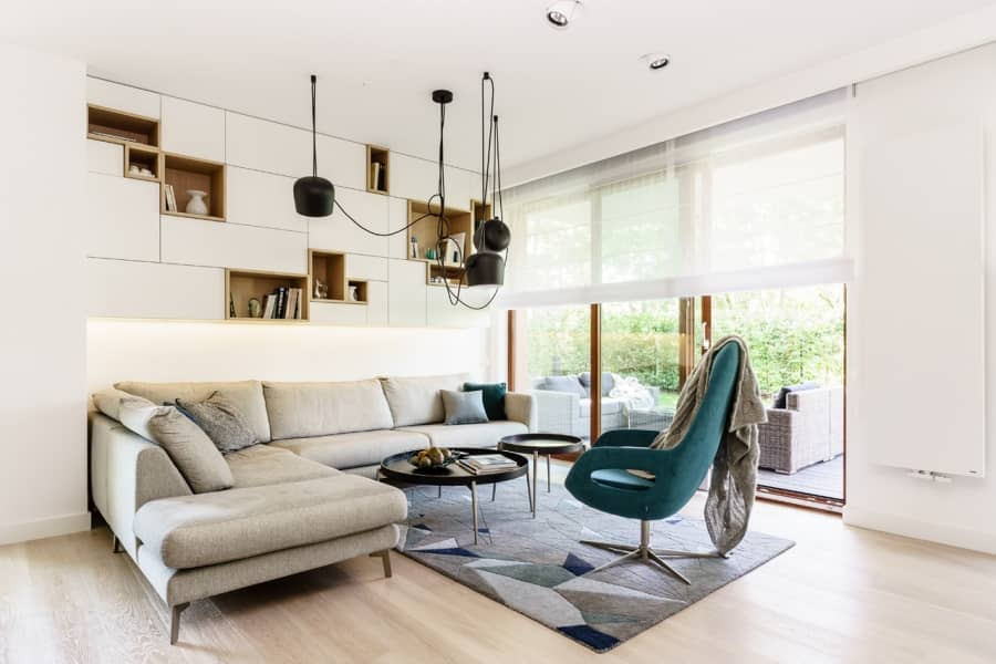 Современный интерьер в стиле минимализм, фото