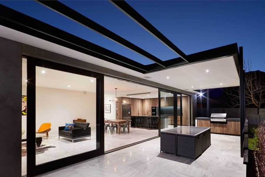 Современный минимализм: проект загородного дома в Австралии, фото