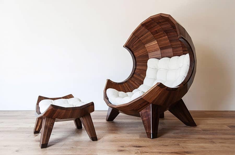 Удобное кресло для отдыха Segment Chair от Sae Rom Yoon, фото