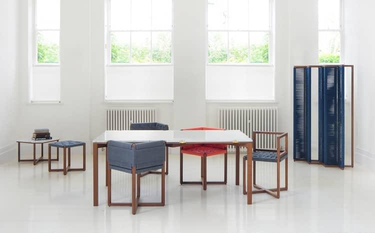 Уникальный комплект столов и стульев от Bureau de Change, фото