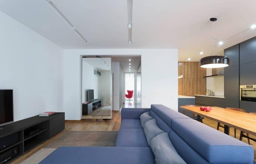 Уютная квартира в Киеве от Lugerin Architects, фото