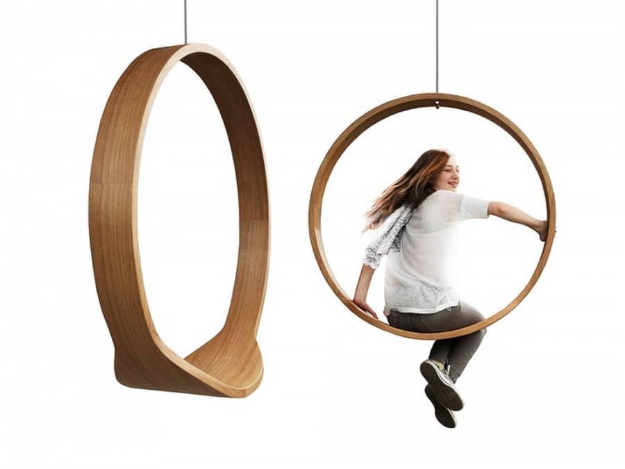 Відчуй себе дитиною: стілець Swing від Iwona Kosicka, фото