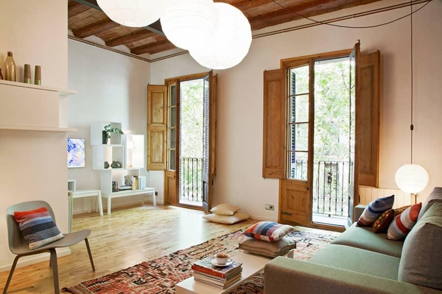 Винтажный интерьер в Барселоне: богемно, тепло и уютно, фото