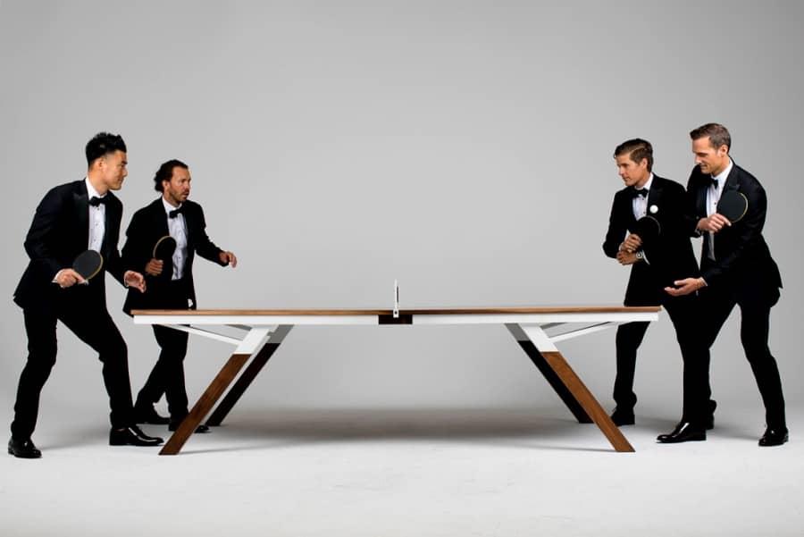 Woolsey Ping Pong Table: стіл для гри у пінг-понг для поціновувачів дизайну, фото