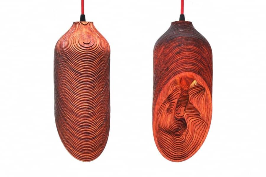 BEL Light — подвесной светильник в африканском стиле, фото