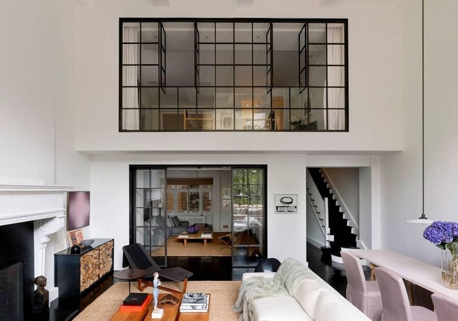 Двухуровневая квартира на Верхнем Вест-Сайде, фото