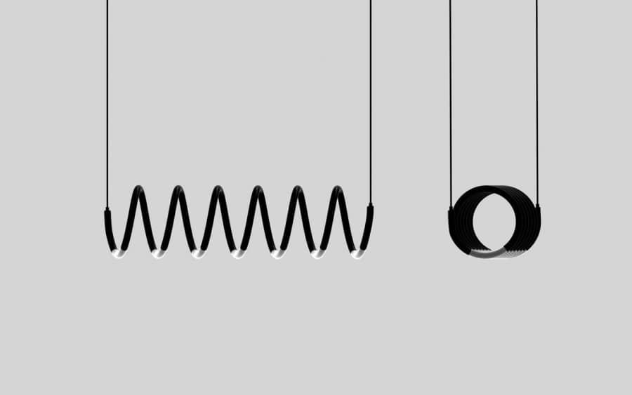 Helix Lamp — символ света от украинского дизайнера, фото