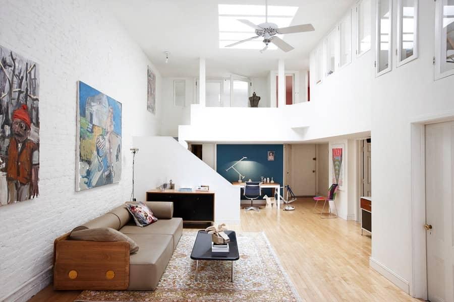 Квартира в стиле лофт в самом сердце Манхеттена, фото
