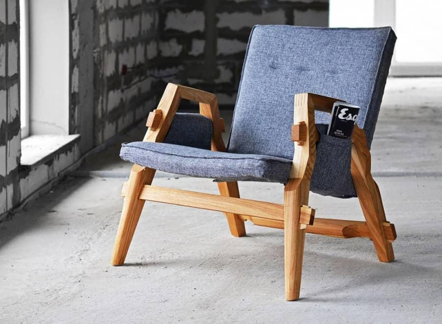 Лаконично и удобно: кресло для отдыха от украинского дизайнера, фото