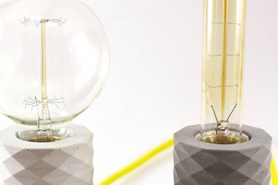 Lampus — светильники из бетона от украинских дизайнеров, фото