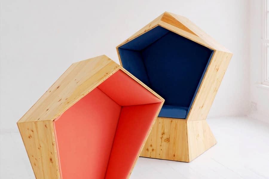 Мебель для коворкингов: «Тишина» и «Звук» от студии TILT, фото