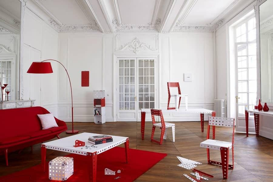 Меблі Meccano home: конструктор-іграшка для дорослих, фото