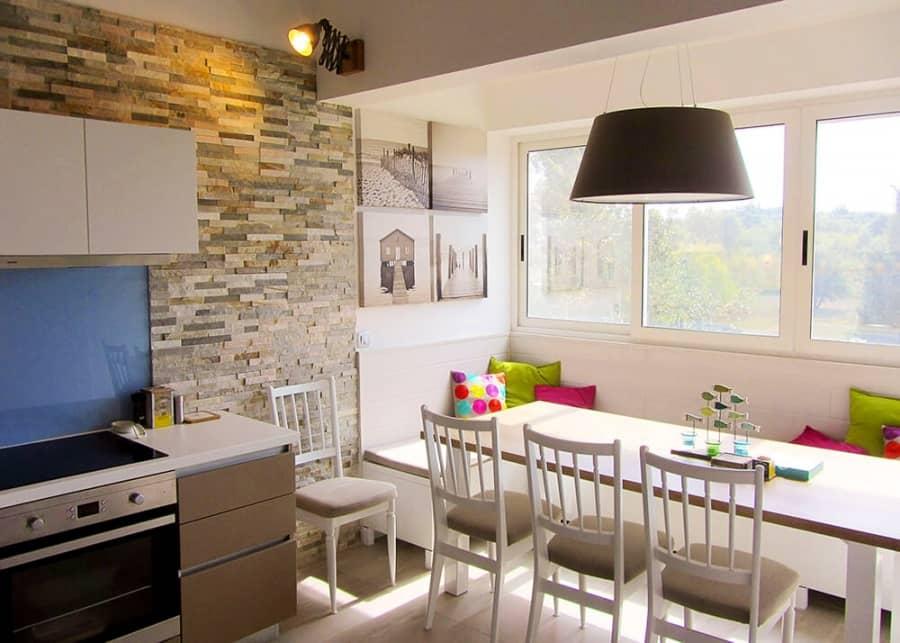 Морская тематика в интерьере: пример квартиры в Хорватии, фото
