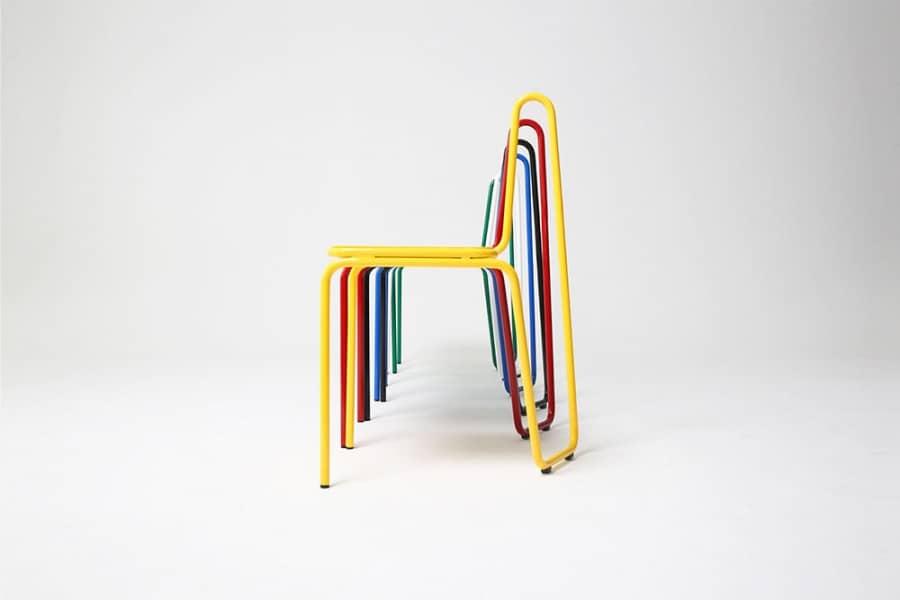 Одной линией: серия стульев от студии SOHN, фото