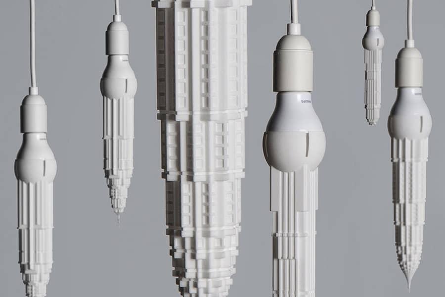 Підвісні світильники Stalaclights, які схожі на сталактити, фото