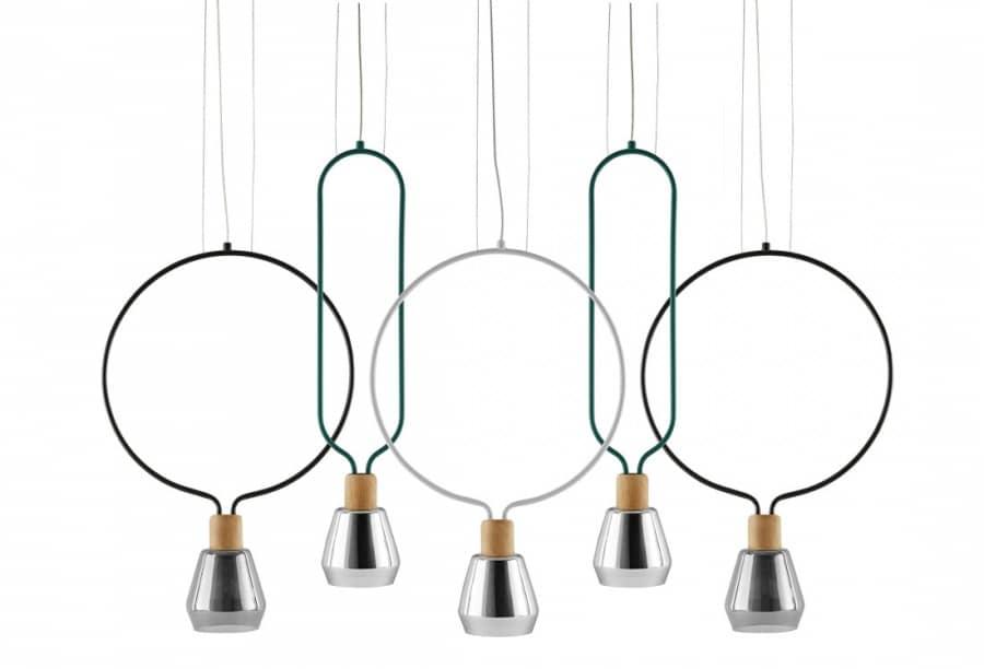Потолочный светильник Agata от студии Sovrappensiero, фото