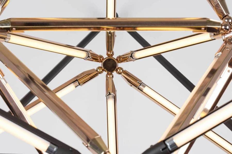 Скульптурные геометрические светильники от Бек Бриттан, фото