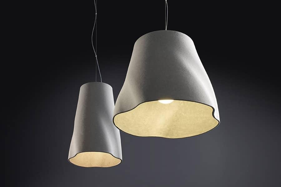 Светильник из бетона от Райнер Мутч: легкость геометрических форм, фото