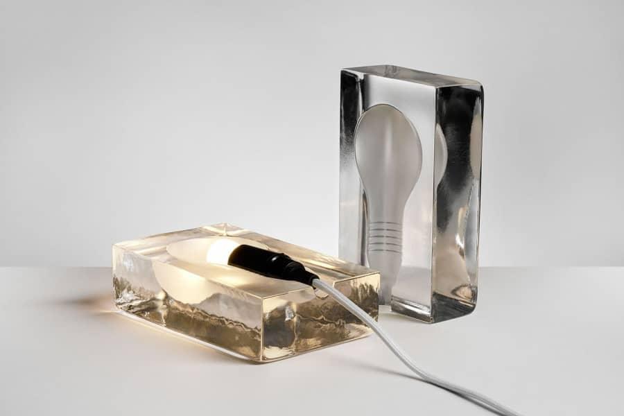 Замороженный светильник Block Lamp теперь на светодиодах, фото